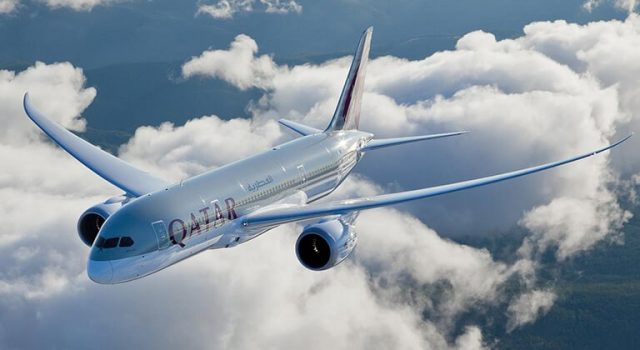 Flugverfolgung Qatar Airways